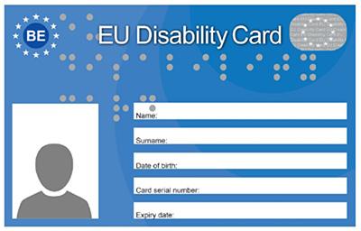 Evropska invalidska kartica