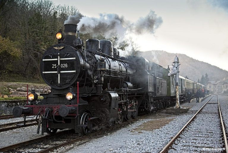 Obisk železniškega muzeja v Ljubljani